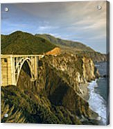 Big Sur Acrylic Print by Christian Heeb