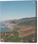 Big Sur Coastline Acrylic Print