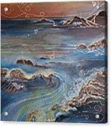 Big Sur In Sunset Acrylic Print