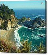 Big Sur Little Cove Acrylic Print