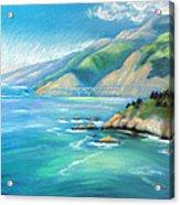 Big Sur Serenity Acrylic Print