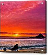Big Sur Sunset Pfeiffer Beach Acrylic Print