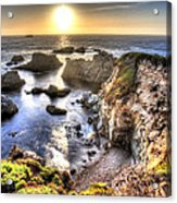 Big Sur Sunset Acrylic Print by Shawn Everhart
