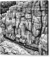 Big Thunder Mountain Railroad Acrylic Print