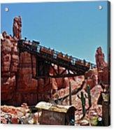 Big Thunder Mountain Walt Disney World Acrylic Print