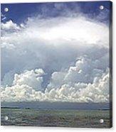 Big Thunderstorm Over The Bay Acrylic Print