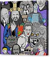 Big Trouble Acrylic Print by Gary Niles