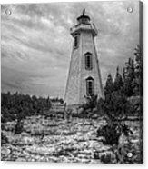 Big Tub Lighthouse Acrylic Print
