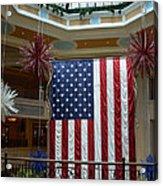 Big Usa Flag 1 Acrylic Print