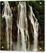 Big Water Fall Croatia Acrylic Print