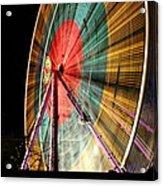 Big Wheel Edinburgh Acrylic Print
