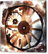 Big Wheel Wall Acrylic Print