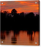 Big Cypress Sunset Acrylic Print