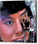 Biggest Woman In Bangkok Acrylic Print