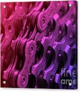 Bike Chain Acrylic Print