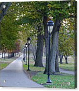 Bike Path Along Kelly Drive Acrylic Print