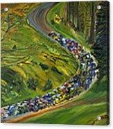 Bike Race Belgium Arden Spring Classics Acrylic Print