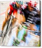 Bike Race I Acrylic Print