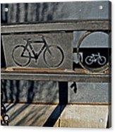 Bike Rack Acrylic Print