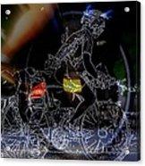 Bike Rider - Canada To Charleston To New Orleans Acrylic Print