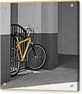Bike With Frame Acrylic Print