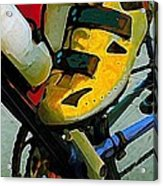 Biker Boy Foot Acrylic Print