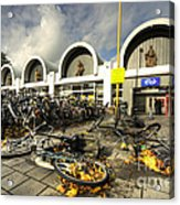 Bikes After The Storm  Acrylic Print