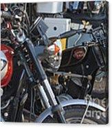 Old Motorbikes Acrylic Print