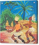 Bikutsi Dance 2 From Cameroon Acrylic Print