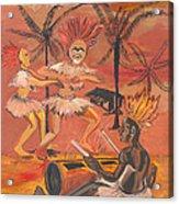 Bikutsi Dance From Cameroon Acrylic Print