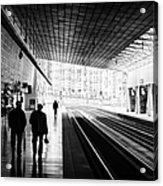 Bilbao Train Station Acrylic Print