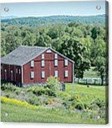 Bilgerville Road Farm  7d02271 Acrylic Print