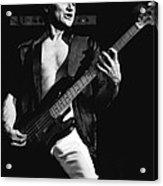 Bill Church On The Bass Acrylic Print