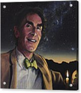 Bill Nye - A Candle In The Dark Acrylic Print