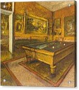 Billiard Room At Menil-hubert Acrylic Print