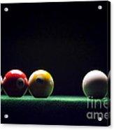 Billiard Acrylic Print