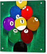 Billiards Art - Your Break 1 Acrylic Print