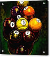 Billiards Art - Your Break 6 Acrylic Print