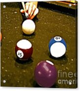 Billiards Art - Your Break -art 8 Acrylic Print