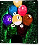 Billiards Art - Your Break Acrylic Print