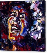 Billie Holiday Jazz Faces Series Acrylic Print