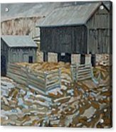 Bill's Barns Acrylic Print
