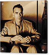 Billy Bob Thornton as Ed Crane in the film The Man Who Wasn t There Acrylic Print
