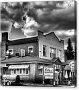 Billy's Restaurant And Walt's Diner - Old Forge New York Acrylic Print