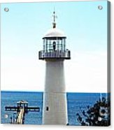 Biloxi Lighthouse 4 Acrylic Print