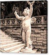 Biltmore Cherub Asheville Nc Acrylic Print