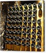 Biltmore Estate Wine Cellar -stored Wine Bottles Acrylic Print