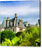 Biltmore In The Distance Acrylic Print
