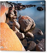 Binalong Bay At Sunrise Acrylic Print