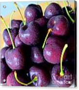 Bing Cherries Acrylic Print